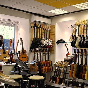 Музыкальные магазины Белых Берегов